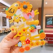 (  Suit )children hair clip Korean style fruits set woman head