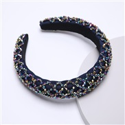 (color )za Korea occidental style width Rhinestone eadband handmade Korean style crystal eadband