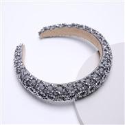 za Korea occidental style width Rhinestone eadband handmade Korean style crystal eadband