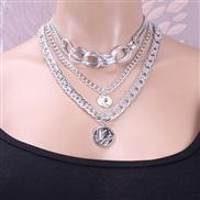 ( Silver  necklace)oc...