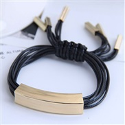 occidental style fashion  Metal concise rope personality temperament bracelet
