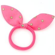 Korean fashion personality sweet cloth rabbit ears hair band hair accessories hair rope