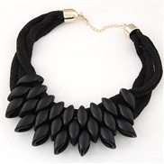 Europe and the trend of fashion accessories collar necklace