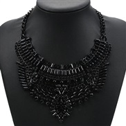 fashion occidental style retro Alloy short style necklace crystal woman