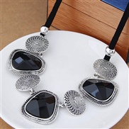 classic all-Purpose occidental style exaggerating clavicle chain short style necklace