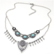 occidental style trend  Metal all-Purpose personality temperament short style necklace