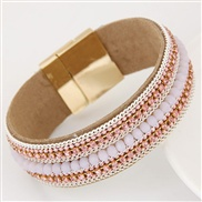 occidental style   trend  concise flash diamond crystal all-Purpose personality temperament bracelet