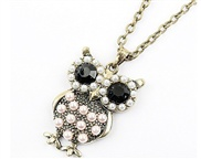 Cape Island Korean jewelry owl sweater chain necklace sweater chain length