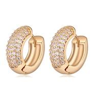 AAA grade zircon earrings - cool in summer