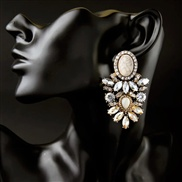 occidental style fashion  luxurious all-Purpose diamond lady earrings